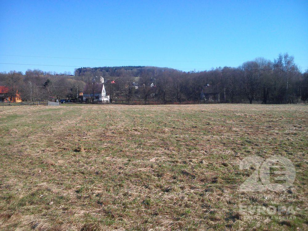 Nový Oldřichov / Prodej stavebního pozemku 3494 m2 v klidné lokalitě a blízkosti lesa