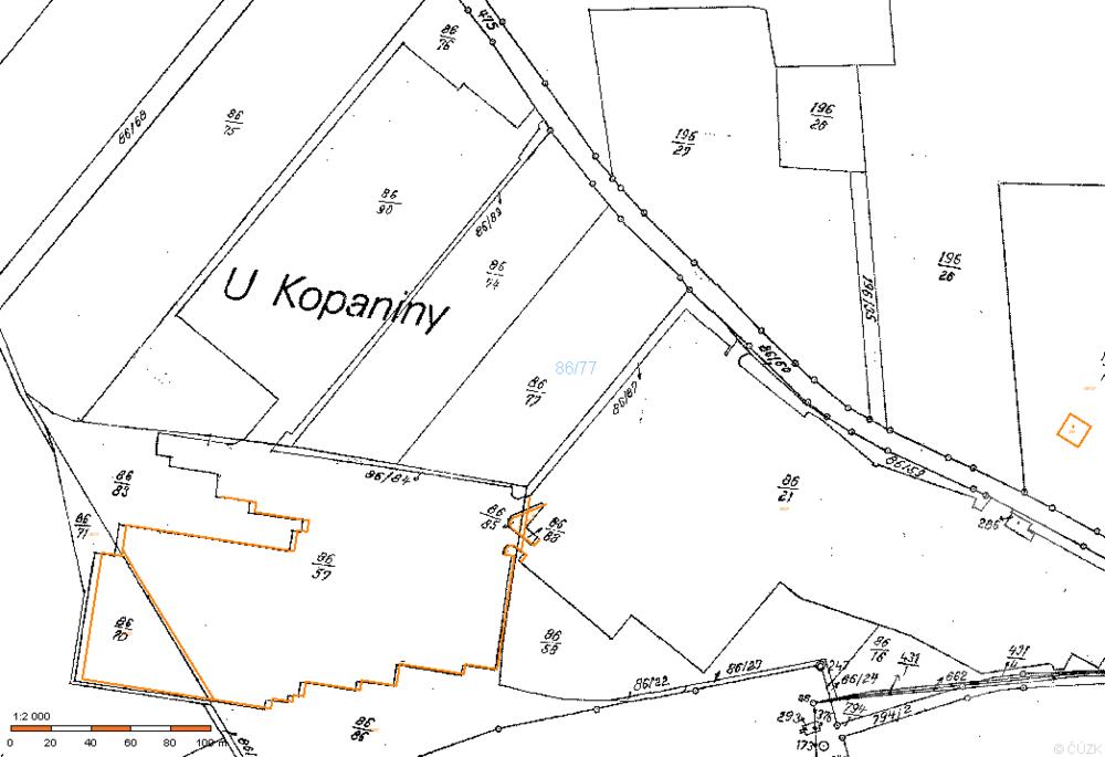 Prodej pozemku pro komerční výstavbu v k.ú. Tuchoměřice, ul. Ke kopanině