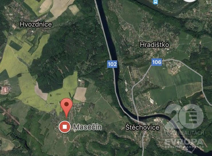 Prodej stavebního pozemku 10 510m2 pro výstavbu rodinných domů a dvoj-domů - Praha západ, Štěchovice