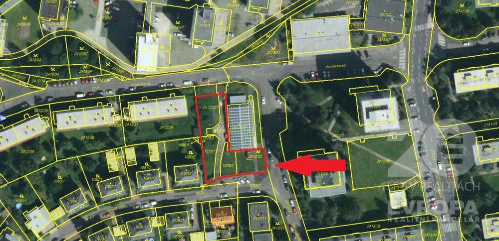 Pronájem pozemku 1290 m2, Praha 10 - Hostivař