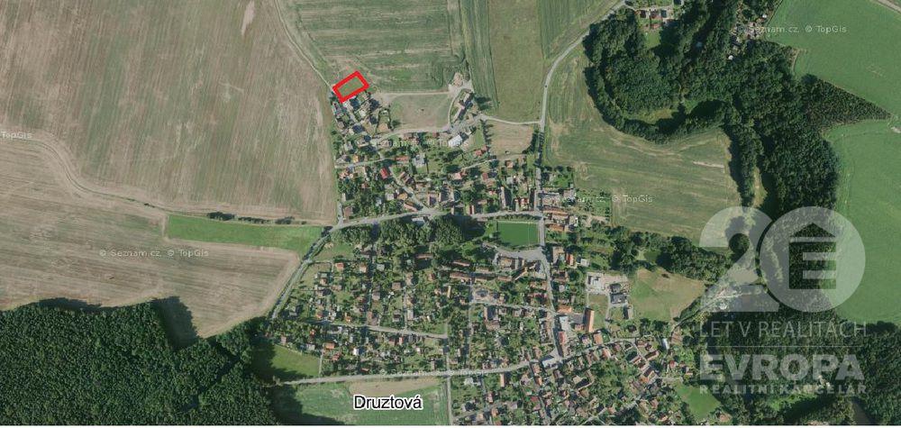 Prodej pozemku pro bydlení, 1010 m2, Druztová.