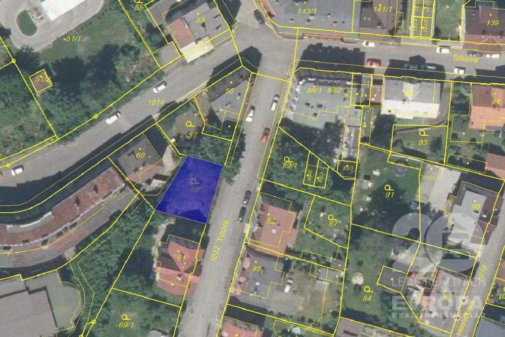 Prodej stavebního pozemku 253 m2, Liberec, ulice