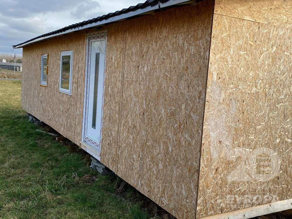Kolín, montovaný dům, mobilheim, rozměry 12 x 4m, prodej