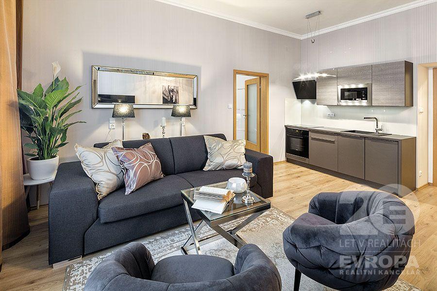 Prodej bytu 2+kk, 48m2, Praha 8, Palmovka